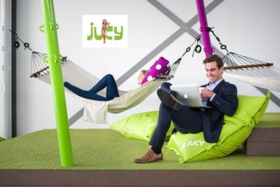 Commercial Photography advetising Jucy Snooze.