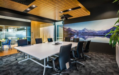 professional interior commercial architectural photography. SB Logisitics boardroom offices, Christchurch.
