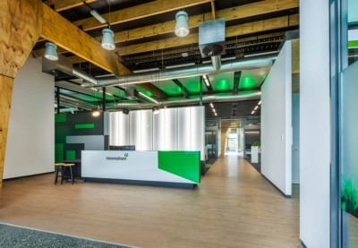 professional interior commercial architectural photography. Ravensdown offices, Christchurch.