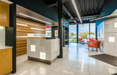 professional interior commercial architectural photography. Mortlock McCormack Law office.