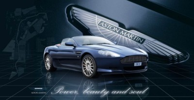 Aston Martin DB9 photographed by Christchurch automotive photographer Anthony Turnham