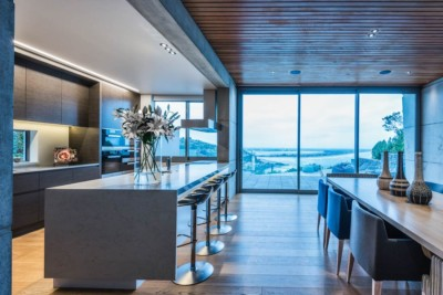 Christchurch architectural photography by high end property photographer. Kitchen Photography