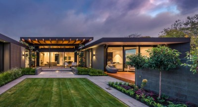 Best home award Christchurch New Zealand. Photographed by award winning architectural photographer Anthony Turnham.