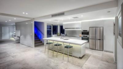Clean modern kitchen design Christchurch New Zealand. Phootgraphy by Anthony Turnham